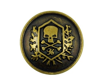 Old Brass Buttons Etsy