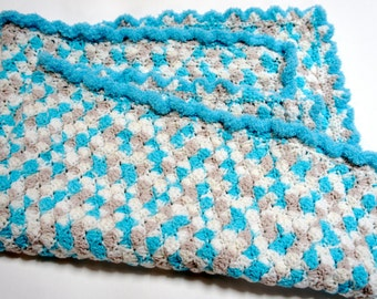 Keepsake Baby Blanket, Baby Gift, Crocheted Baby Blanket, Baby Shower Gift