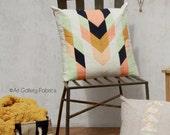 Modern Tribal Pillow Pattern