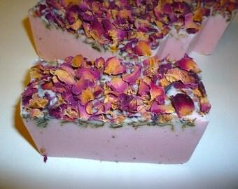 Moroccan Rose Soap, Rose Soap,Vegan Soap, Handmade Soap, Wholesale Soap, Wedding Favors, Rose Soap Favors