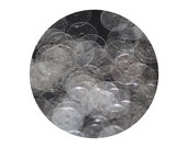 10mm Flat Sequins Crystal Clear