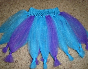 Abby Cadabby inspired tutu skirt, great for dress up, costumes, and birthdays!