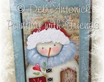 I Love Snow by Deb Antonick, E-Pattern