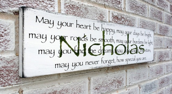 Irish Blessing Wall Hanging