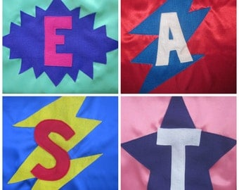 Kids Super Hero  Cape, Personalized ,Super Hero Costume, Party Favor, Birthday Gift, Christmas