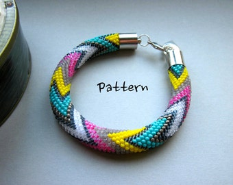 PDF Bead Crochet Pattern - Pattern Only