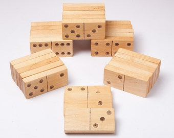 Wooden domino, eco friendly toy, kids wooden toys, math toy