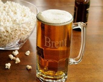 Personalized Monster Beer Mug - Personalized Beer Mug - personalized Beer Stein - Gifts for Him -  Engraved Mug -  (949)