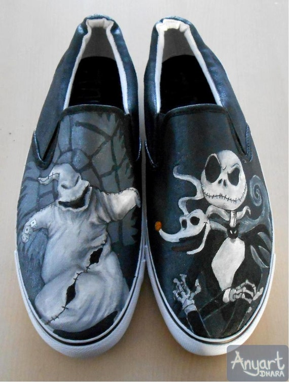 Nightmare Before Christmas Vans Shoes For Sale