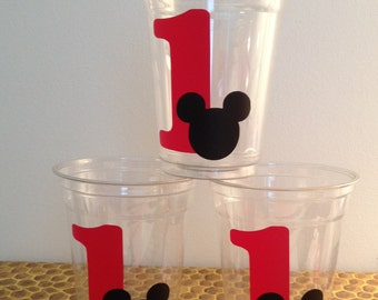 24 Mickey Mouse Party Cups