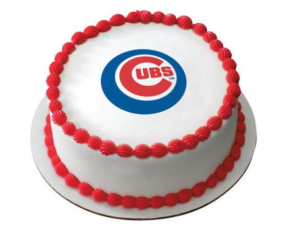 MLB Chicago Cubs Edible Cake And Cupcake By ArtofEricGunty
