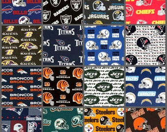 Custom Crib Bedding and Nursery Decor / Design Your Own / Crib Bumper / Crib Skirt / Crib Sheet / Football / NFL / AFC / Any Team