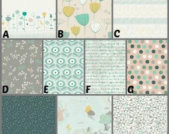 Custom Crib Bedding and Nursery Decor / Design Your Own / Crib Bumper / Crib Skirt / Crib Sheet / Littlest / Into The Pine Woods