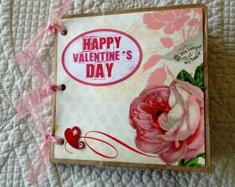 Valentine Scrapbook Album