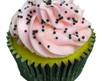 3.8oz Black Non Pareils sprinkles for cakes cupcakes cookies and pastries baking supplies