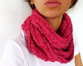 Cuello tejido para mujer hecho a mano. Bufandas circulares. Bufandas tejidas. Ideas para regalar para ella