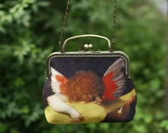 FineArt Collection little angel clutch