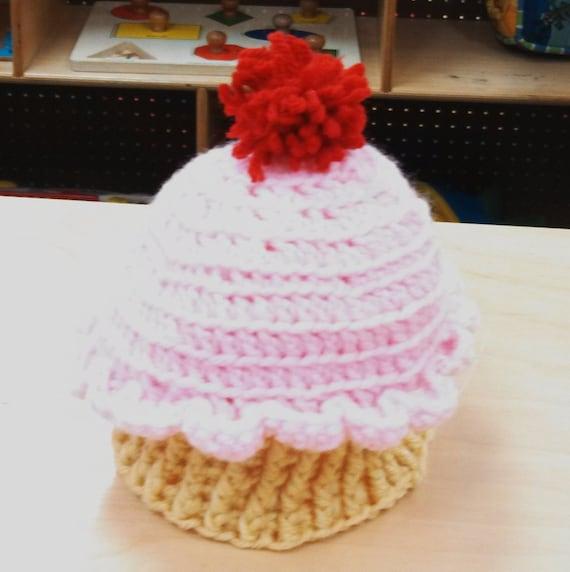 Custom Cupcake Cap Hat Beanie