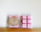 Amaretto Soy Wax Melt, Tart, Wickless Candle, Hand Poured, Cherry Almond Scent, Clamshell Container, Scent for Home, Soy Wax Cubes