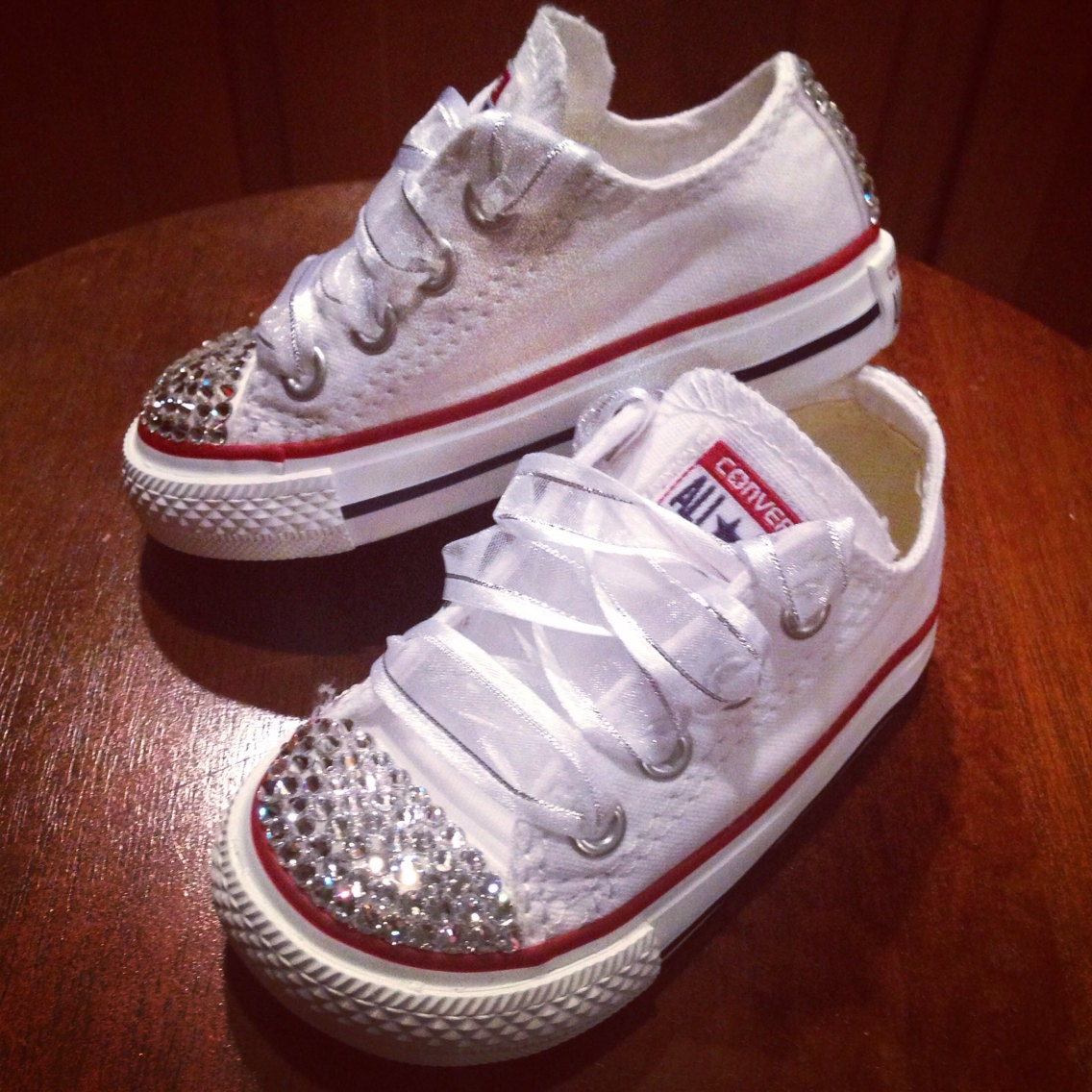 Converse All Star Baby Bling Shoes