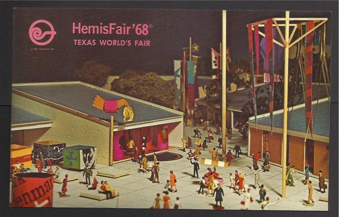 Hemisfair 68 Texas World S Fair San Antonio By Thetoadshouse