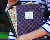 Flower Patterns Ruled Notebook / Floral Notebook / 10821175