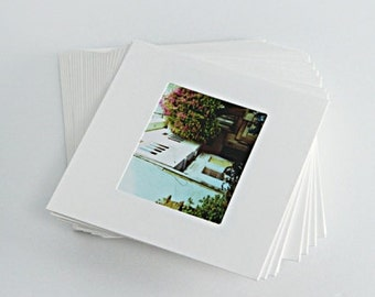 20 Peices of Mini Polaroid Photo Frames [ White / Kraft ] / 10999954