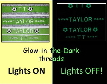 No slip Headbands - Embroidered / Personalized GLOW