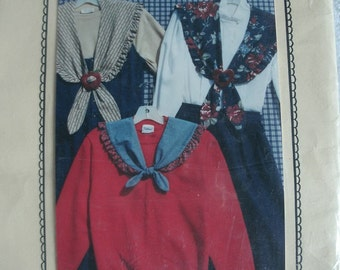 Misses Collars - Large & Petite from The Village Peddler Pattern Co. Designed by Kathryn J. Nobis 1990