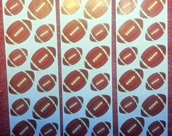 60 Football Stickers, stickers, Superbowl, football decorations