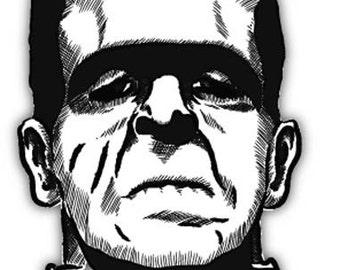 """Frankenstein The Modern Prometheus sticker decal 4"""" x 5"""""""