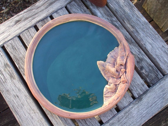 Sale Decorative Hunter Green Terrafirma Ceramic Pottery