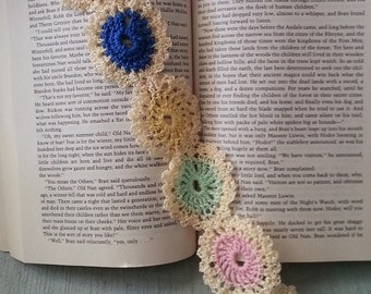 Delicate, Crocheted Bookmark