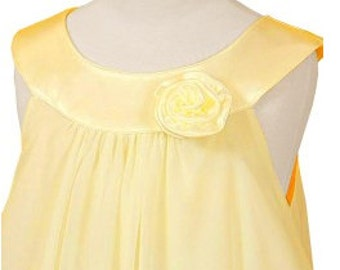 Yellow flower girl dress special occasion girls dress Easter dress girls communion dress flower girl dresses many colors
