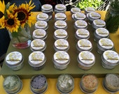 Organic Culinary Salt: French Lavender, Lemon & Marigold, Rosemary, Sweet Paprika, Holiday Blend (Sage, Savory, Thyme)