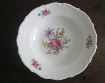 Vintage Soup Bowls - Polish China - 4 Bowls - Vintage Dinnerware - Vintage Tableware - Shabby Chic