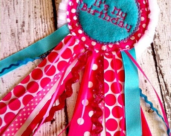 ITH Birthday Badge Embroidery Design