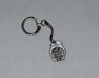 Disney The Nightmare Before Christmas Deadly Night Shade Keychain