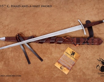 15th Century Hand and a Half sword (#1537)