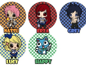 Fairytail - Buttons