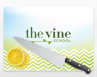 Personalized Glass Cutting Board Your Logo Custom Glass Cutting Board Perfect for Company & Corporate Gift