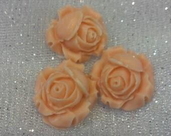 Beautiful miniture rose soaps