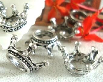 10 crown charms, embellishment,crown charm
