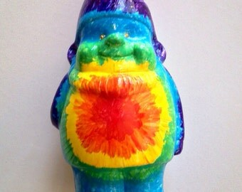 Groovy Tie Dye Gnome