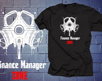 Finance Manager Zone T Shirt Finance Manager Shirt Gift For Finance Manager