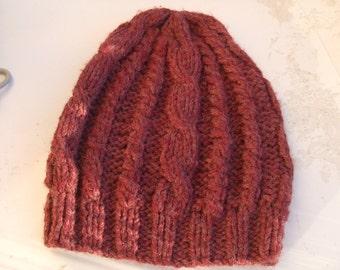 women's wool knit hat