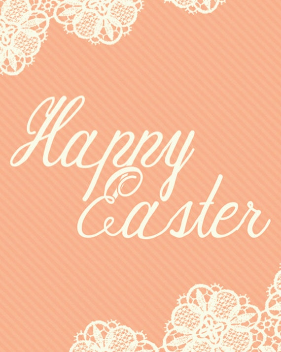 Easter Printable Art - Happy Easter