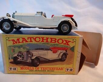 "Matchbox ""Models of Yesteryear"" 1928 Mercedes (number Y-10)"