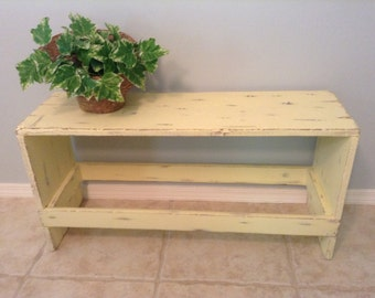 Popular items for farmhouse bench on Etsy