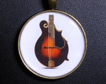 F-5 Mandolin Necklace / Pendant